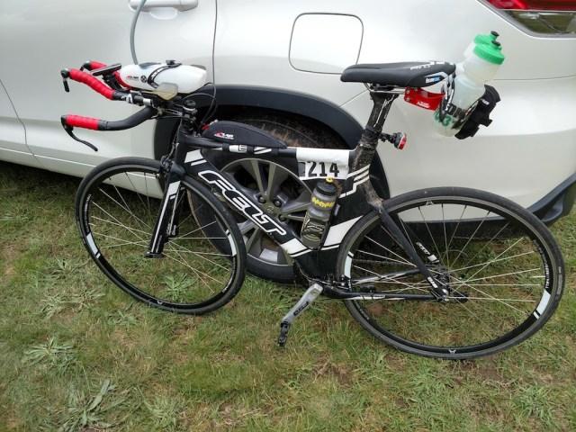 Bike is a bit dirty