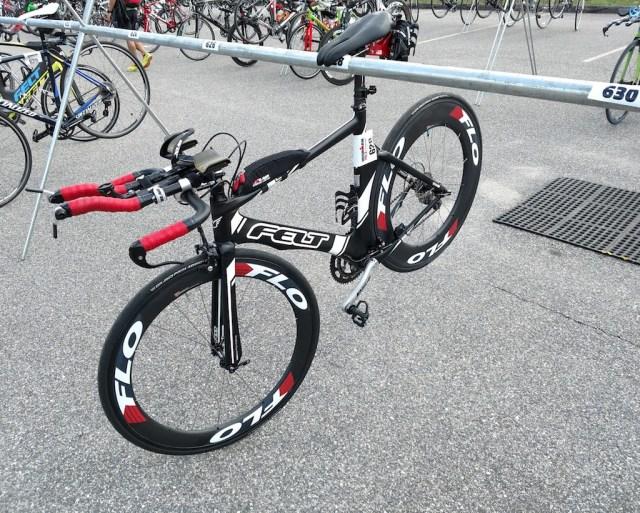 Bike Racked and Loaded