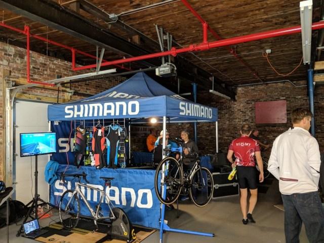 Shimano Sponsor Tent