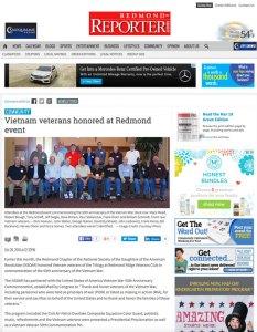 Redmond Reporter Article 10-2014
