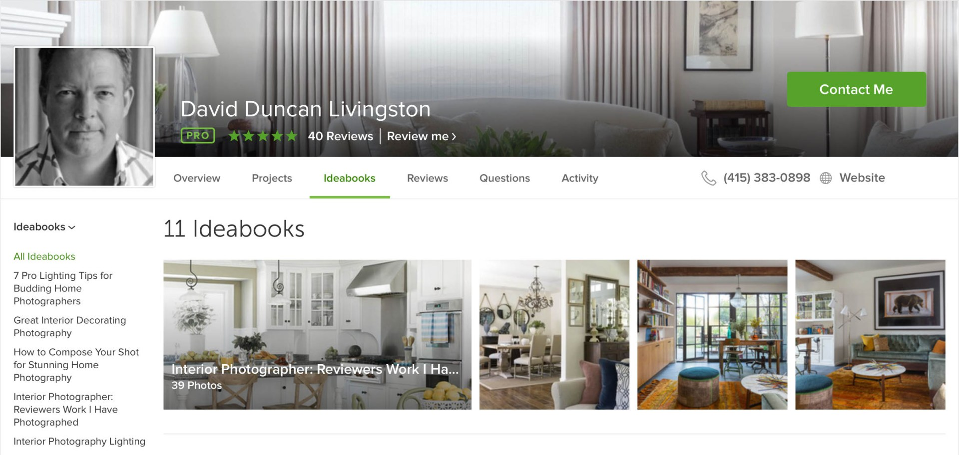 Houzz Marketing for Design Firms - David Duncan Livingston