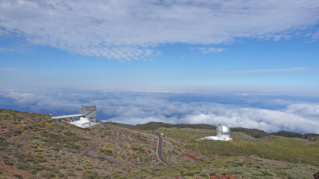 The Road to the Observatory La Palma Canary Islands