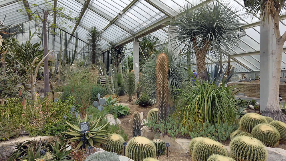 The Princess of Wales Conservatory, Royal Botanic Gardens, Kew, London