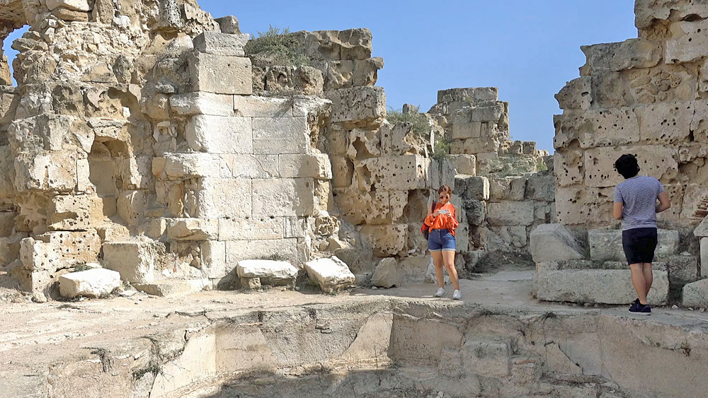Ancient Ruins of Salamis, Cyprus