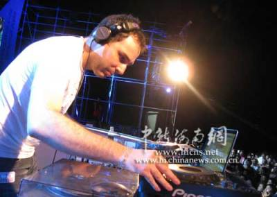 davide succi hainan electronic music stage