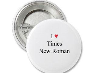 spilla di chi ama il Times