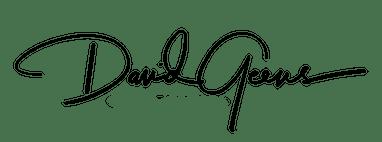 Handtekening David Geens