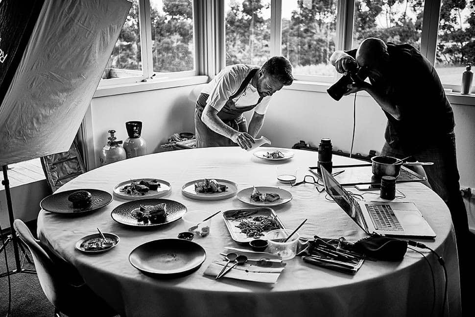 Ten Minutes by Tractor Chef Adam Sanderson images by by David Griffen Photography
