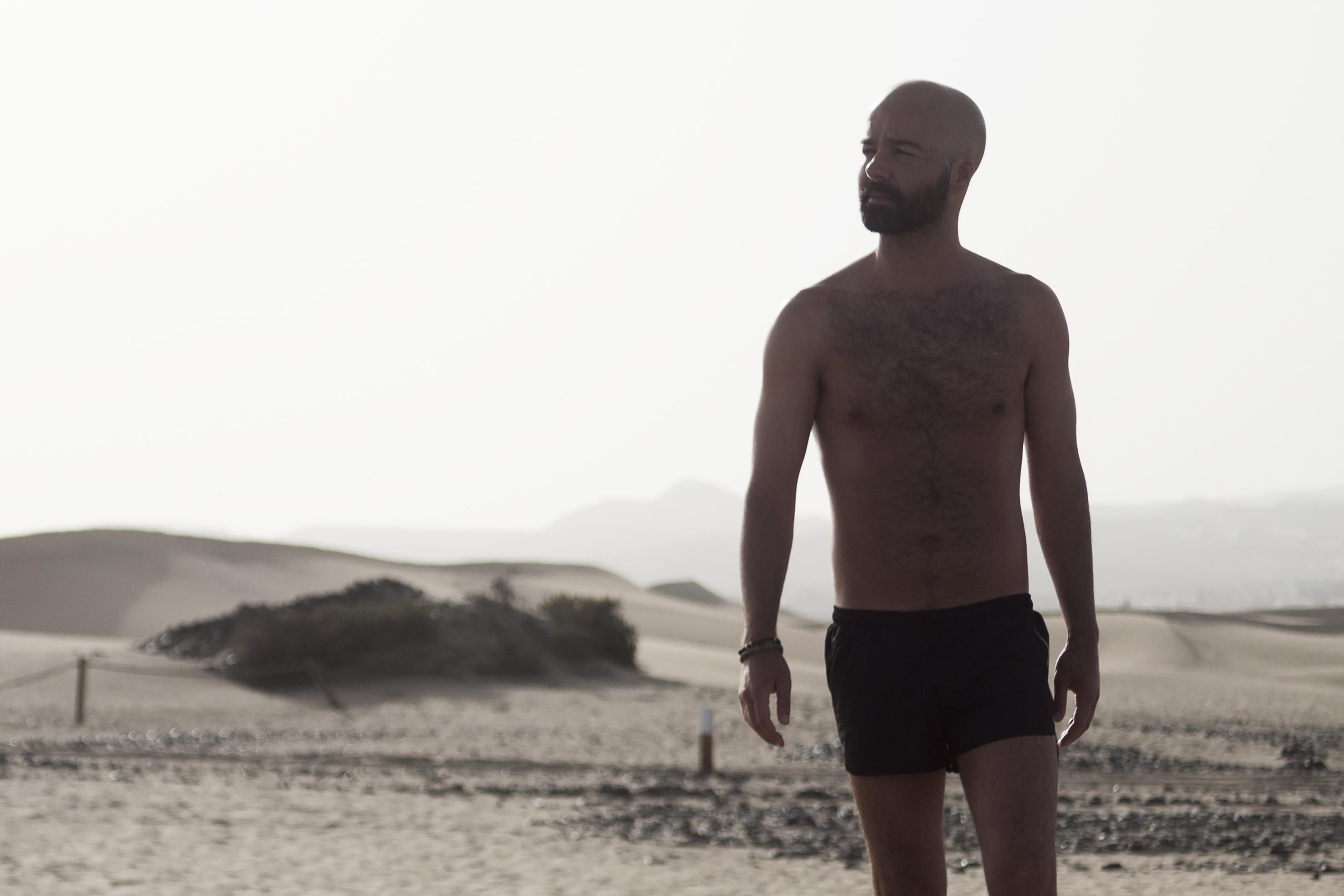 CALIMA: Fotografía de desnudo. Fotógrafo: David Guillén