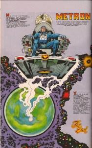"Jack Kirby's ""Metron,"" DC Comics, 1971."