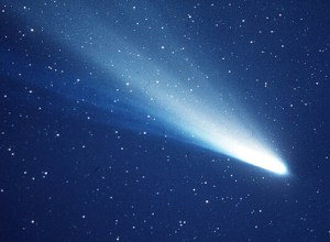 "Halley's Comet (credit: NASA). ""Hynek told friends he wanted to go out the way he came in--'with the comet.'"""