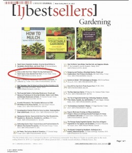 Grow a Little Fruit Tree by Ann Ralph on Library Journal's Bestseller List