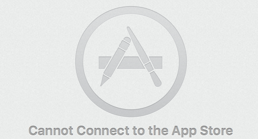 Why can't my Mac connect to the App Store?