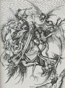 Martin Schongauer The Temptation Of St. Anthony 1480 - 1490
