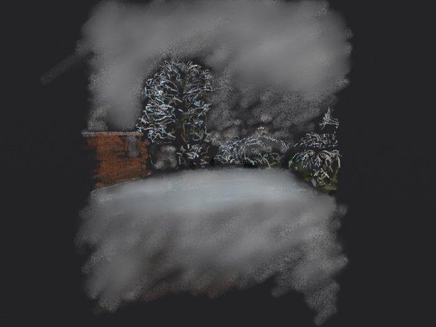 Snow in Abergele