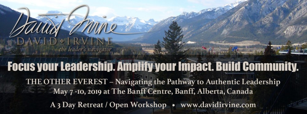 David Irvine Workshop Banff Centre