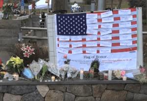 Sandy Hook Memorial (via Wikimedia Commons)