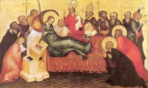 Dormition of Mary (via Wikimedia Commons)