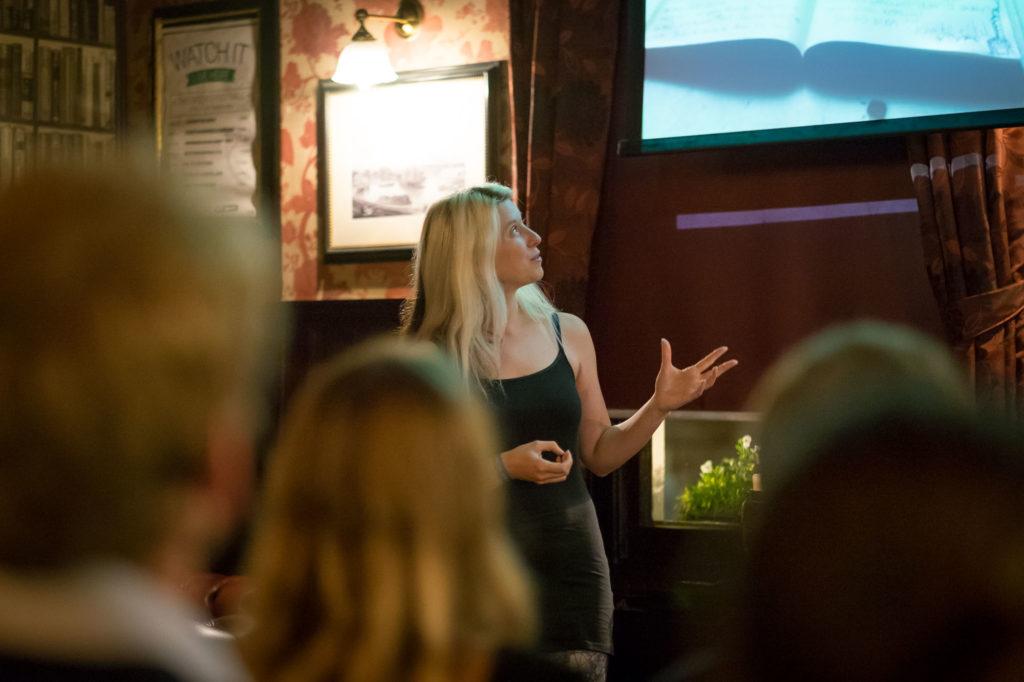 Phoebe Smith talk at IYA