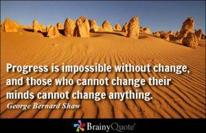 Digital Development - Change Quote by George Bernard Shaw