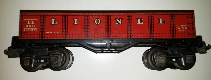 2677 - Gondola Car