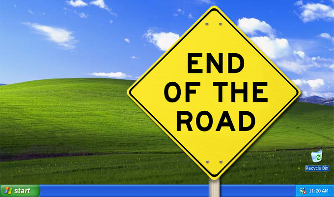 The End of Support for Windows XP