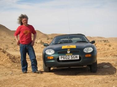 MGF, Matmata, Tunisia. Tuareg Rallye 2013