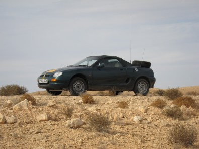 MGF, Matmata, Tunisia. Tuareg Rallye 2013.