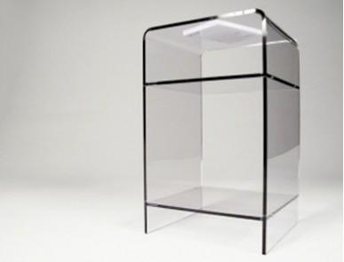 meubles transparents de bureau design