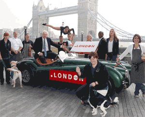 Boris Johnson Celebrates Dot London