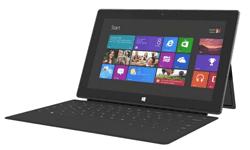 Microsoft Surface Pro 3 with keyboard/cover