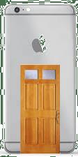 iPhone with Back Door