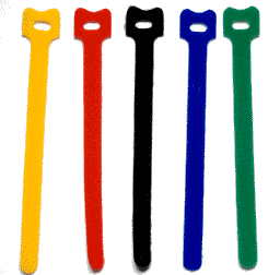 Velcro cable ties - available from Maplin