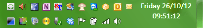 Notification Area Icons