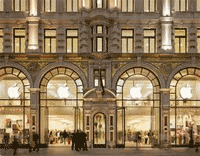Apple in Regent Street
