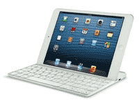 iPad Mini Logitech Keyboard Cover - White