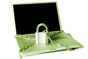 Locked Laptop