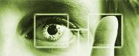 Multi Factor Authentication - eyes and fingerprints