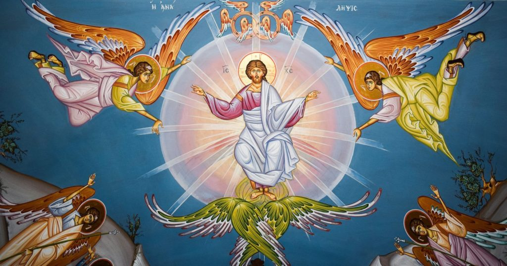 Through the Holy Eucharist, Jesus Points to His Ascension