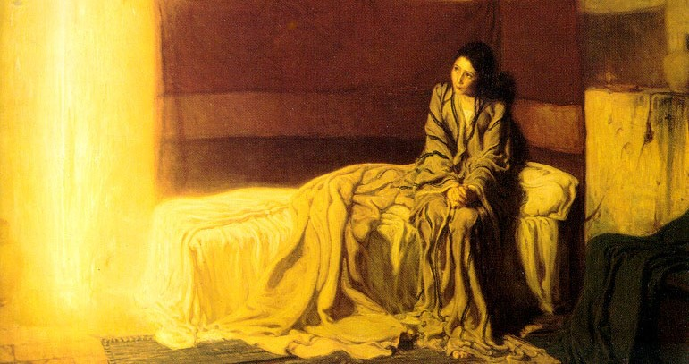 Luke 1:26-38 –  Gabriel's Visit to Mary