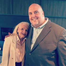 David Mariner with Edith WIndsor