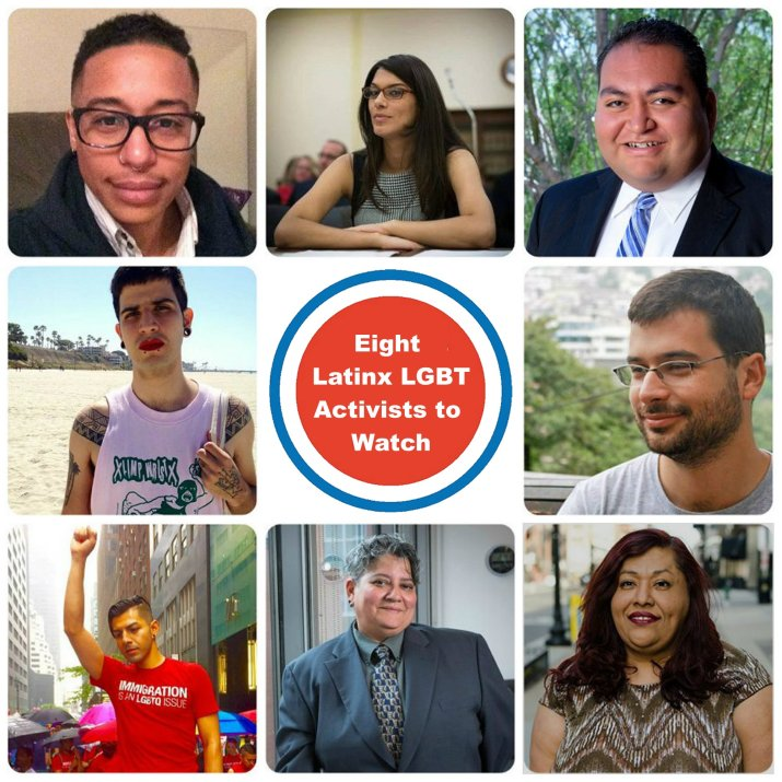 Latinx LGBT Activists to Watch