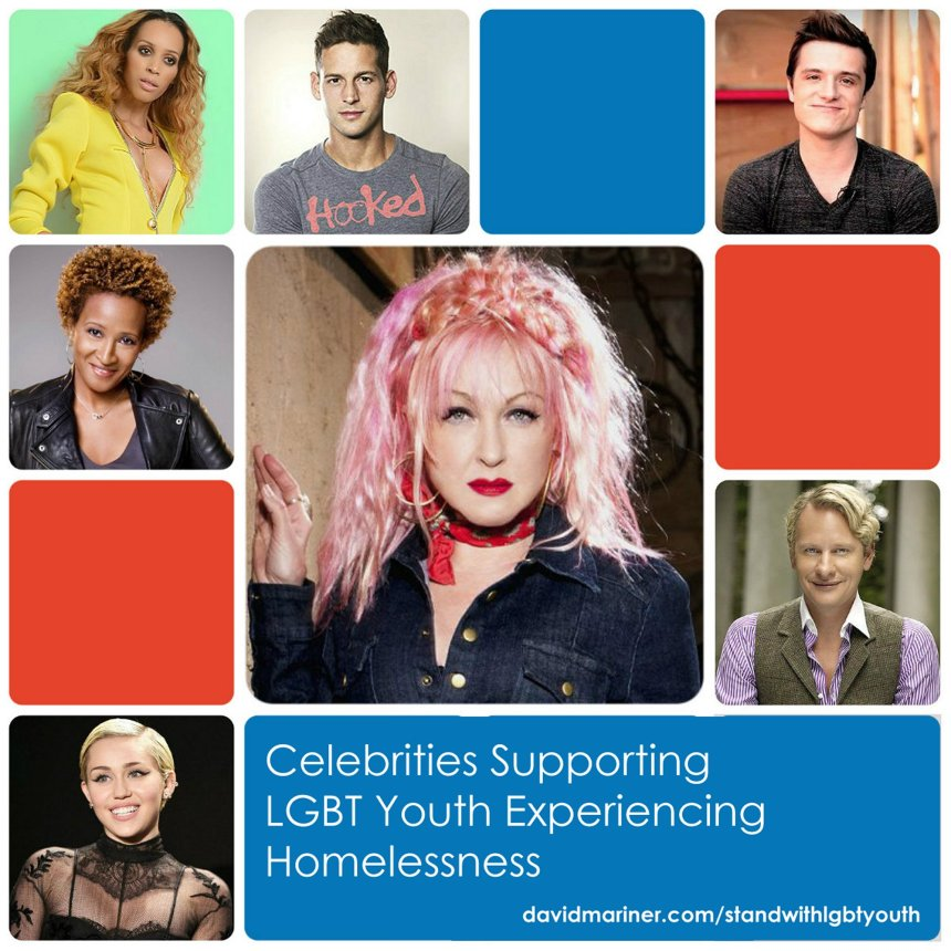 Stand with Homeless LGBT Youth