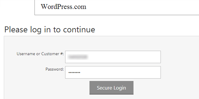 Login_SecurePay