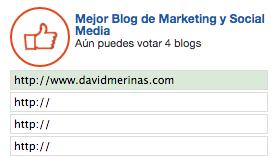 Mejor Blog Marketing Online