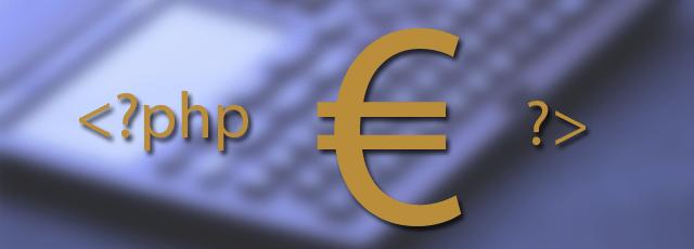 Buscar y reemplazar el símbolo de EURO € en PHP