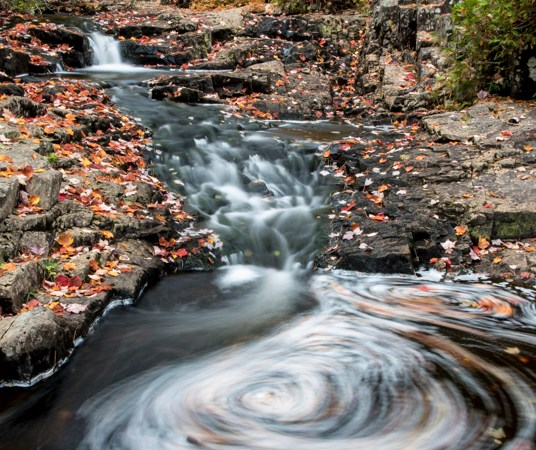 Water Swirls