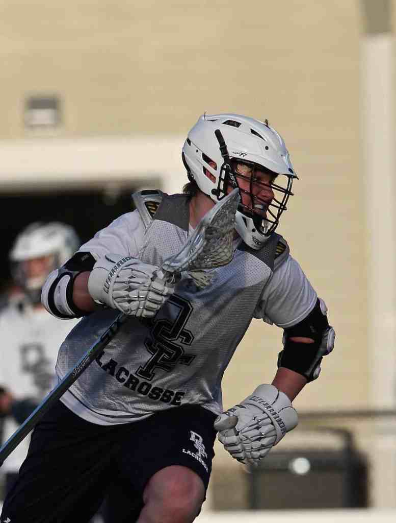Rebels Lacrosse Player - David Mize