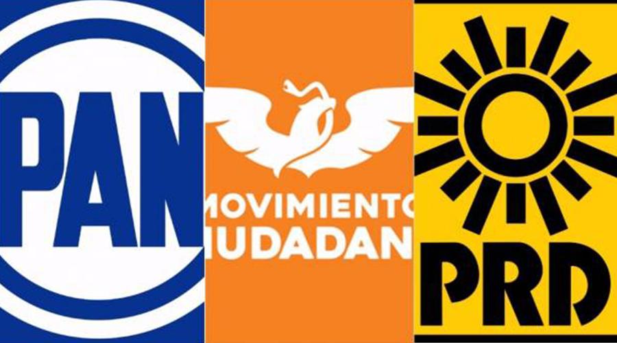 Se disuelve alianza PRD-PAN-MC en Morelos