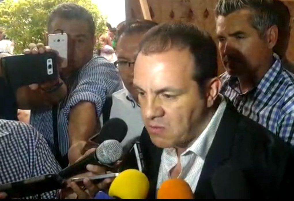 Reacción de gobierno estatal por actos de corrupción por el gobierno de Graco Ramírez